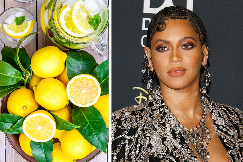 Beyonce lemon detox