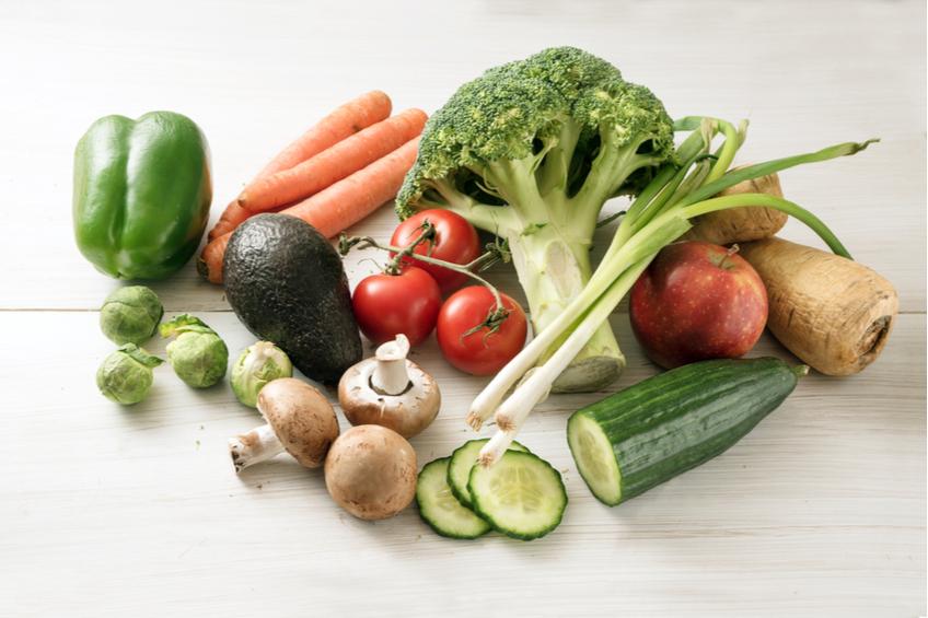 Nizkokaloricka zelenina